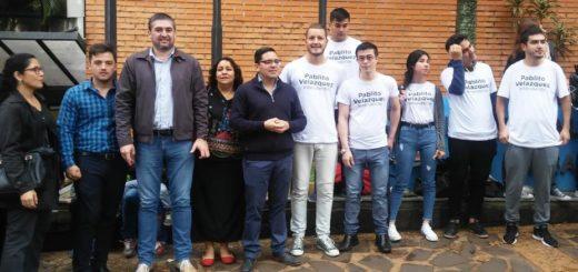 """Pablito Velázquez cerró su campaña: """"A los posadeños les pido que me den la oportunidad"""""""