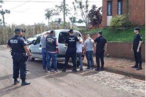 Oberá: la Policía detuvo a tres hombres, por ser los presuntos autores de dos robos