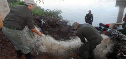 Candelaria: detectan pesca ilegal en la reserva Urutaú de la EBY