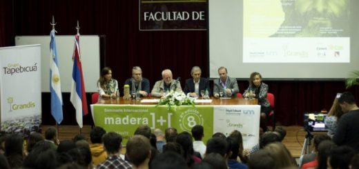 Comenzó en Oberá el Seminario Madera ]+[ con una conferencia de un destacado arquitecto italiano