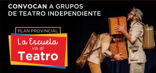 """Convocan a grupos de teatro independiente a participar del Primer Ciclo de Formación de Espectadores: """"La Escuela va al Teatro"""""""