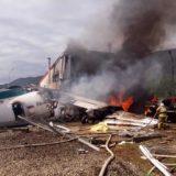 Pánico en el aire: aterrizaje de emergencia tras incendiarse la turbina de un avión