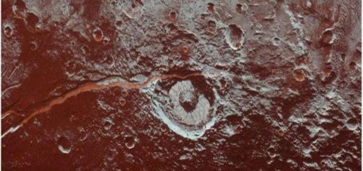 Hallaron amoníaco en la superficie de Plutón
