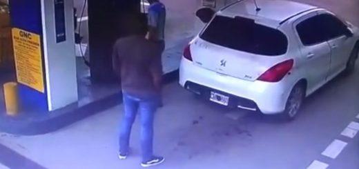 Salta: supuesto narco fue a cargar gas, explotó el tanque y voló la droga por el aire