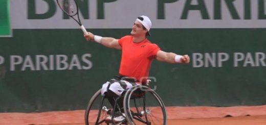 El argentino Gustavo Fernández es finalista de Roland Garros en tenis adaptado