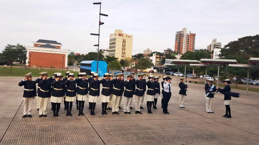 """El Liceo Naval Militar Almirante Storni entregó los premios del concurso """"Malvinas la llama eterna"""""""