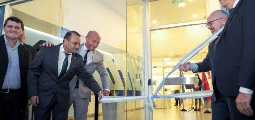 El Vicegobernador de Misiones Oscar Herrera Ahuad participó de la inauguración de una nueva sucursal electrónica del Banco Nación en Posadas