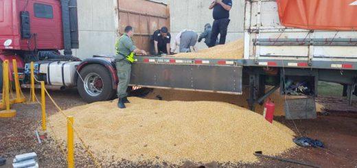 Aduana secuestró un camión con droga en el puente Posadas- Encarnación