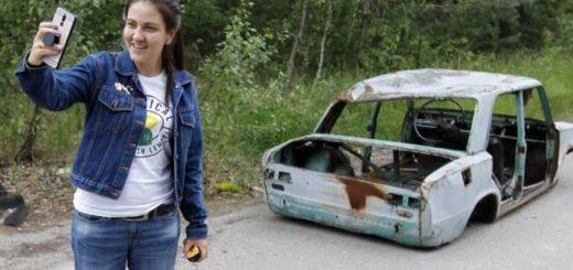 Chernobyl: las fotografías de turistas que generan polémica