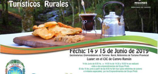 Invitan a participar del Seminario sobre Turismo Rural que se realizará este viernes y sábado en Campo Ramón