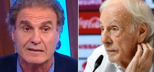 Polémico cruce entre César Luis Menotti y Oscar Ruggeri