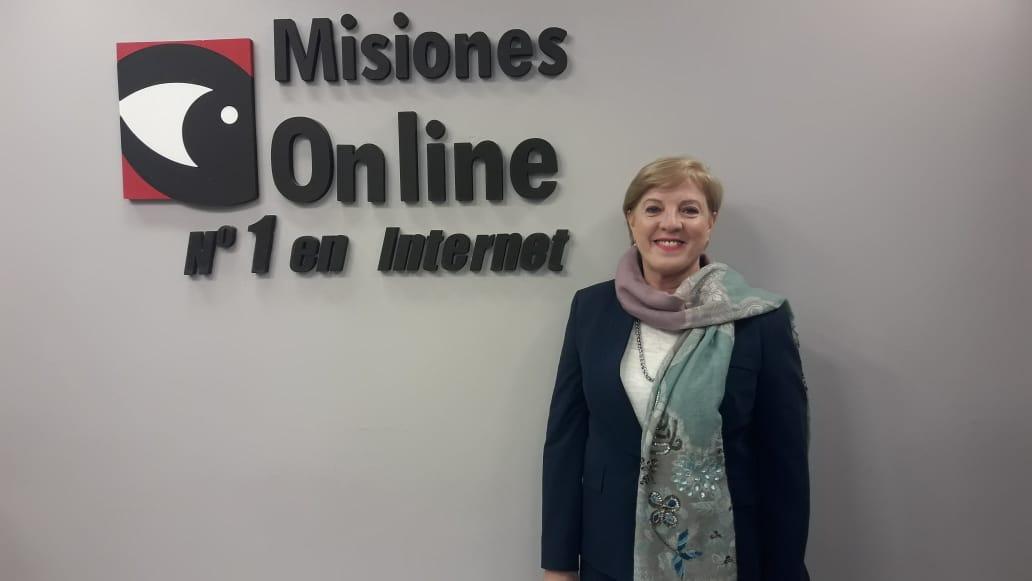 Viviana Rovira destacó el trabajo de la Red de Mujeres de la Concordia en las elecciones provinciales