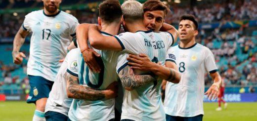 Copa América: Argentina venció a Qatar, avanzó de ronda y enfrentará a Venezuela en cuartos