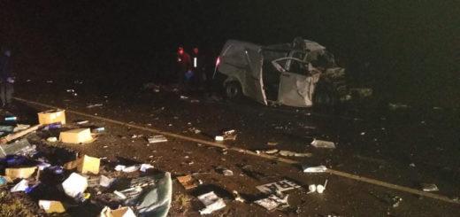 Accidente fatal: un muerto tras un choque sobre ruta 103