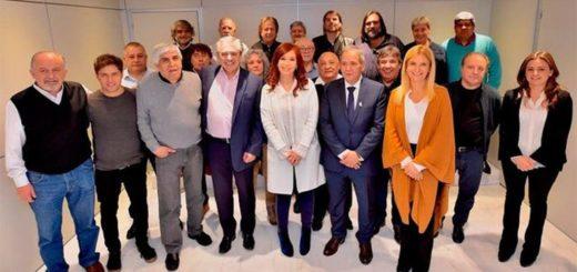 Sin Massa, Cristina Kirchner y Alberto Fernández sellaron un acuerdo electoral con Moyano y Baradel