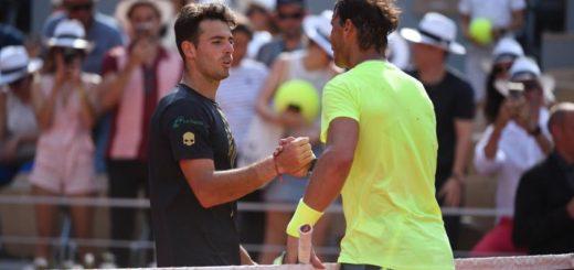 El argentino Juan Lodero se despidió de Roland Garros frente a Nadal