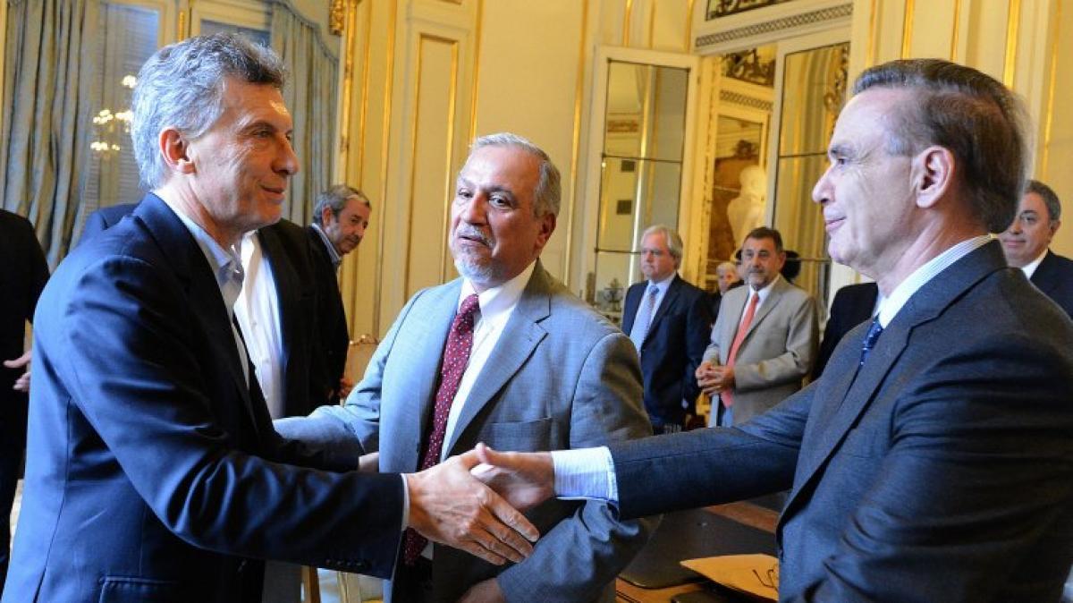 Mauricio Macri confirmó que Miguel Ángel Pichetto será su compañero de fórmula y explicó los motivos