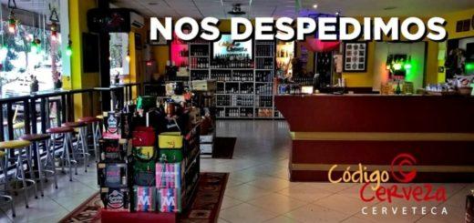 Después de hacer el anuncio en Misiones Online, Código Cerveza se despidió de sus clientes en las redes sociales
