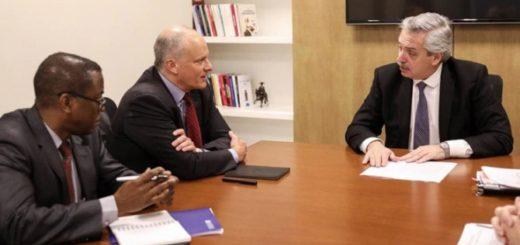 """Alberto Fernández, se reunió con funcionarios del FMI: """"Transmití nuestra disposición de reformular el acuerdo"""""""