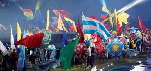 Así fue la ceremonia inaugural de la Copa América
