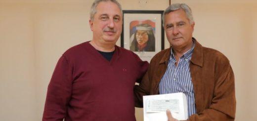 Passalacqua entregó subsidio para recuperación de patrimonio histórico en Concepción de la Sierra