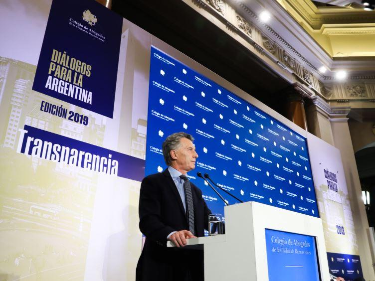 Macri: «Impulsamos la agenda de la transparencia y hoy hay un Estado al servicio de la gente»
