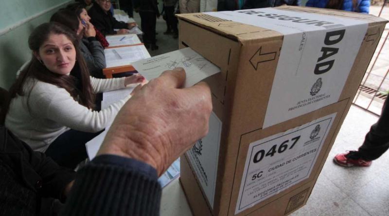 Corrientes: cerró la votación y Cambiemos se adjudica el triunfo en las elecciones legislativas