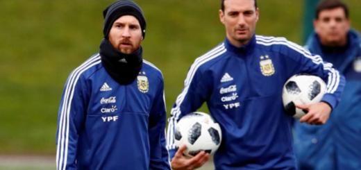#CopaAmérica: Scaloni probó el posible equipo para enfrentar a Venezuela