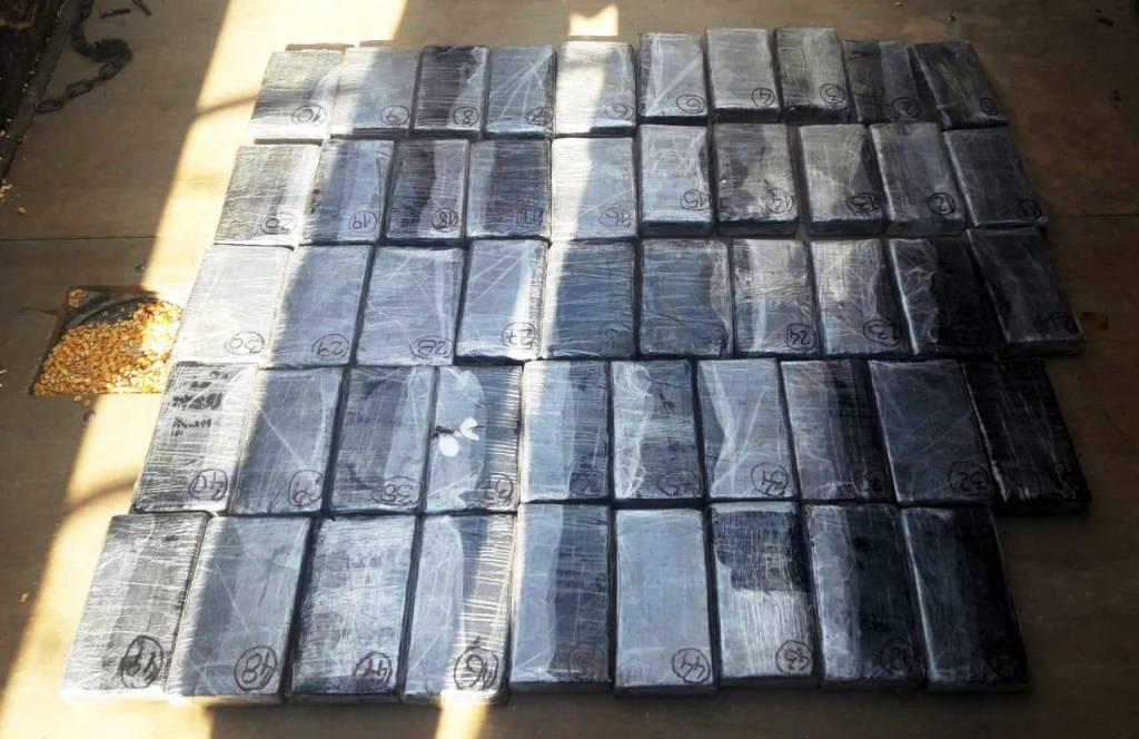 Gendarmería decomisó más de 53 kilos de cocaína y detuvo a un ciudadano paraguayo