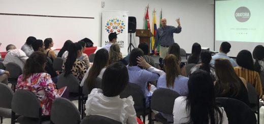 Oratoria Consciente: antes del seminario en Posadas, Ariel Goldvarg capacitó a líderes mercantiles en Colombia …Inscribite aquí por Internet