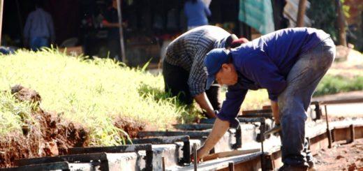 La Municipalidad de Posadas y el IProDHa concretan obras de cordón cuneta, veredas y badenes en las chacras 104, 109 y 140