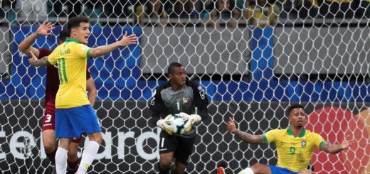Copa América: con dos goles anulados por el VAR, Brasil empató contra Venezuela