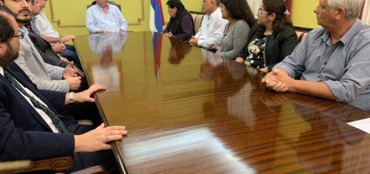 Passalacqua se reunió con dirigentes de UOCRA y de las cámaras ligadas a la construcción