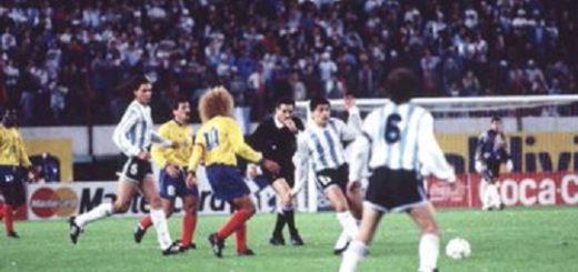 Argentina-Colombia: un antecedente que asusta y que perdura en la memoria de todos los futboleros