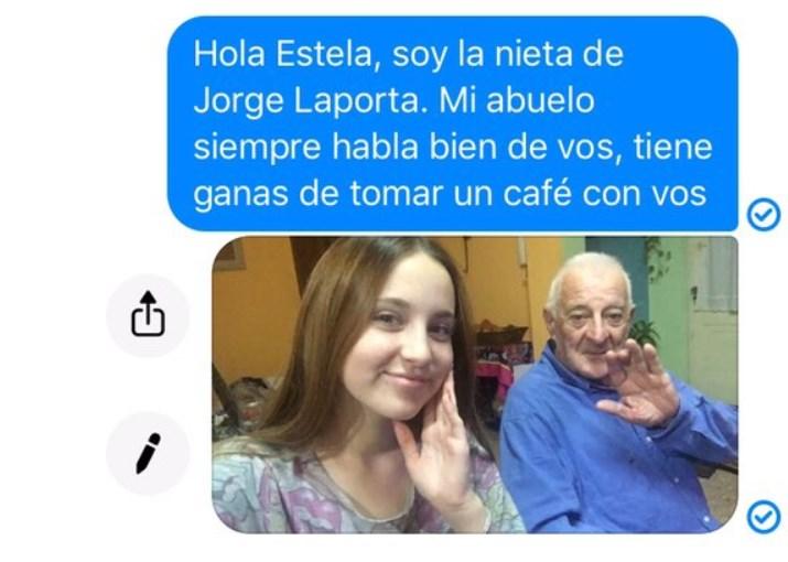 Ternura viral: un abuelo encontró a su primer amor en Facebook y le pidió a su nieta que le escriba