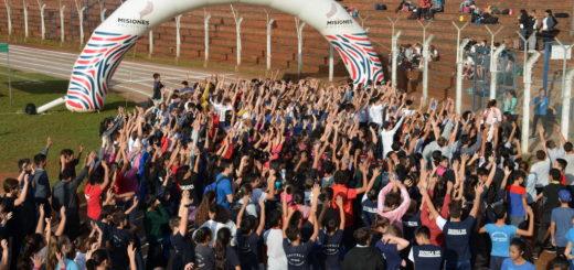 Oberá: se realizó un nuevo encuentro deportivo con más de 600 participantes