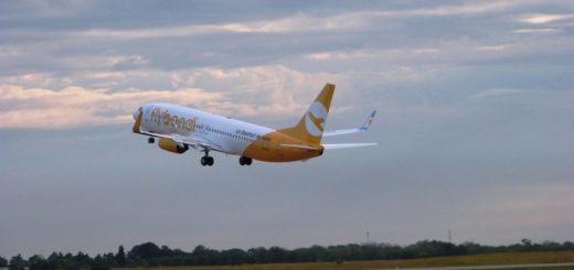 Por segundo mes consecutivo, Flybondi es la tercera aerolínea más grande del país