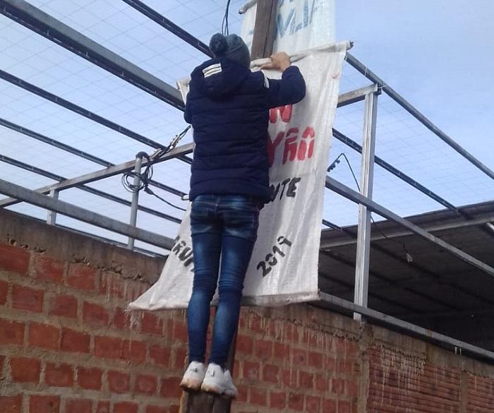 Juan Pereyra retiró todos sus carteles de la vía pública en Garupá