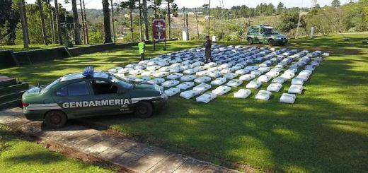 Durante el fin de semana largo, Gendarmería realizó varios operativos en el norte de la provincia