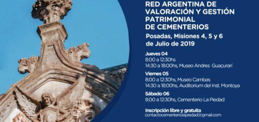 """Posadas se prepara para recibir las """"IX Jornadas de la Red Argentina de Valoración y Gestión Patrimonial de Cementerios"""""""