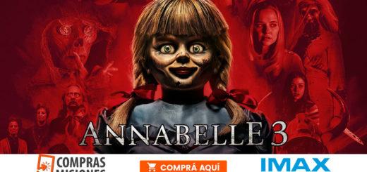 El tiempo acompaña…Una noche ideal para el cine de terror: Annabelle 3 en el IMAX del Conocimiento…Adquirí aquí las entradas por Internet