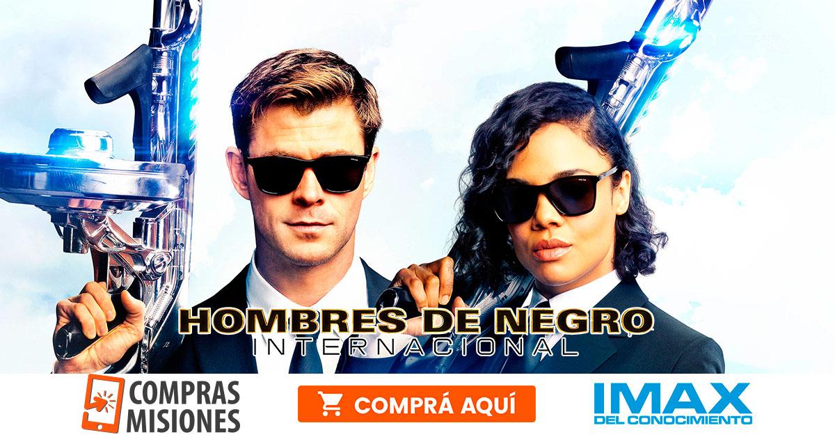 El IMAX del Conocimiento con un estreno estelar: Men in Black International…Ingresá aquí y adquirí las entradas por Internet