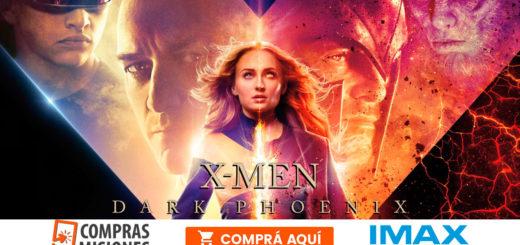 Dark Phoenix, la última entrega de X-Men, llega al IMAX del Conocimiento…Ingresá aquí y adquirí las entradas por Internet