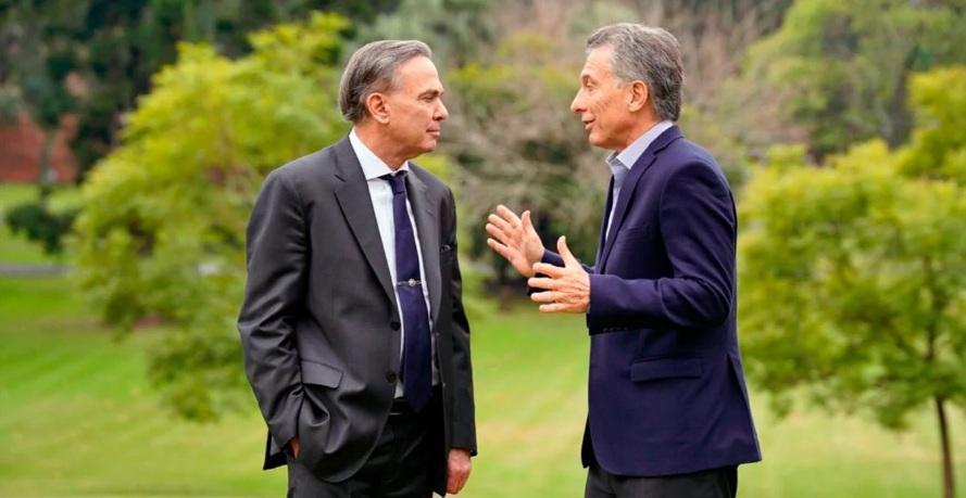 #Elecciones2019: Macri y Pichetto se mostraron juntos tras la cumbre en la residencia de Olivos