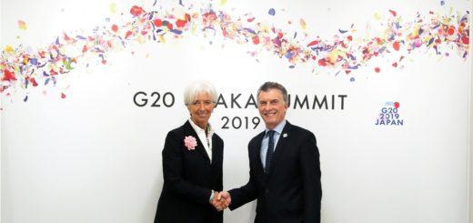 Macri se reunió con la titular del FMI, Christine Lagarde, quien respaldó la política económica desarrollada en el país