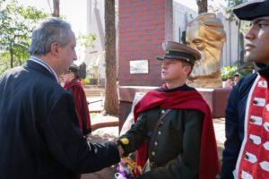 Passalacqua rindió homenaje al General Martín Miguel de Güemes en Oberá