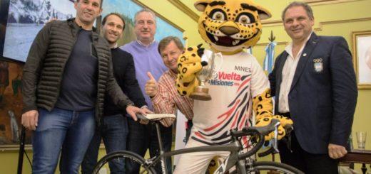 Vuelta a Misiones: Passalacqua lanzó una nueva edición de la histórica competencia ciclística de la década del 50