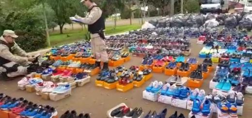 Prefectura incautó mercadería de contrabando por más de 14 millones de pesos en Alba Posse