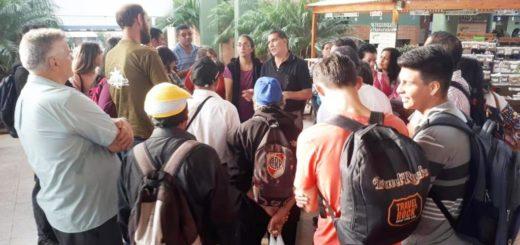 Para conocer la experiencia de trabajo, productores de Eldorado visitaron el Mercado Concentrador de Posadas