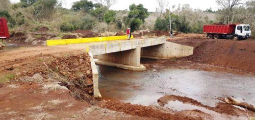 Vialidad Provincial terminó 12 puentes en 9 localidades misioneras